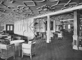 Titanic First Class Dining Room Reception Room And The Door Of 1st Class Dining Room The U2026 Flickr