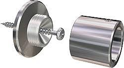 Shower Curtain Brackets Bath Accessories ø 20mm Stainless Steel Shower Curtain Rod