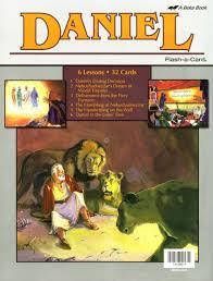 one stone biblical resources daniel a beka flash a cards