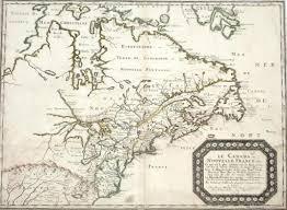 Ou Map Sanson Le Canada Ou Nouvelle France U0026c In Canada