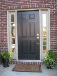 Painting Exterior Doors Ideas Front Door Colors For Brown Brick House Search Door