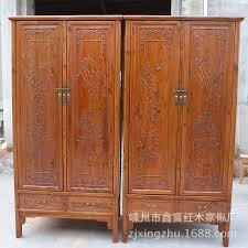 and qing south elm solid wood classical carved bedroom furniture