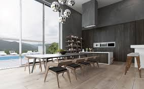 Stone Dining Room Table Against The Wall Dining Table