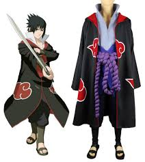eagle halloween costume naruto shippuden uchiha sasuke eagle organization uniform suit