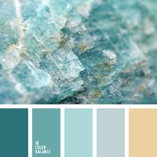color combination inspired by nature mineral stone color pallets