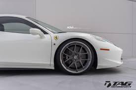 Ferrari 458 Black And White - white ferrari 458 italia adv5 0 track spec adv 1 wheels