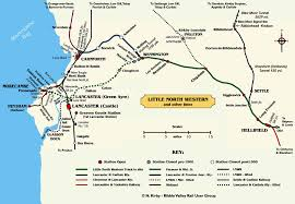 Lancaster Map Little North Western