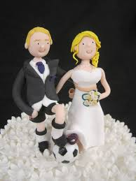 football cake toppers bespoke wedding cake toppers from cakes for all uk