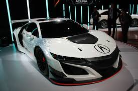 Acura Nsx Weight 2017 Acura Nsx Gt3 First Look 2016 New York Auto Show Youtube
