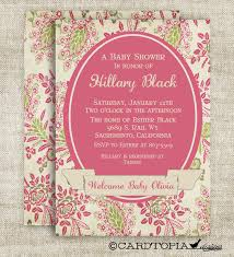 photo diy baby shower invitations image