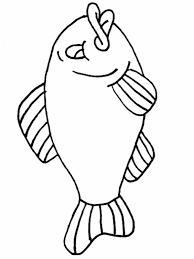 fish coloring printable hobby shelter clip art library