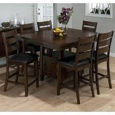 counter height dining table butterfly leaf counter height table with storage 7 piece butterfly leaf counter