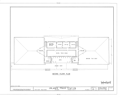 file second floor plan atlantic coastline railroad station 1402