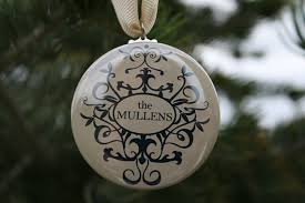 personalized wedding christmas ornaments items similar to wedding favor home decor personalized christmas