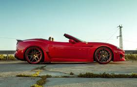 ferrari side novitec rosso announces tune for ferrari california t