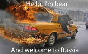 Russia Meme - hello i m bear and welcome to russia memes