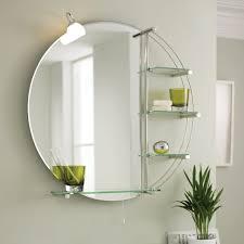 Bathroom Mirror And Shelf Bathrooms Design Small Bathroom Shelf Bathroom Magnifying Mirror