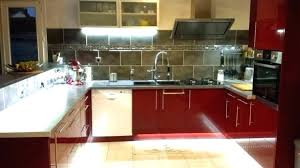 ruban led pour cuisine eclairage led cuisine plan de travail eclairage led cuisine plan