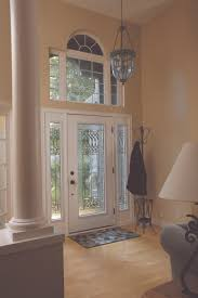wrought iron and glass front entry door designs paris inside view