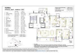 Floor Plan Elements 4 Bedroom Grand Residential Suits At Rustomjee Elements Juhu