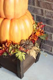 harvest stackable pumpkin decor the home depot blog