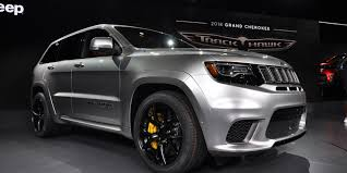 2018 jeep tomahawk jeep grand cherokee trackhawk is fastest production suv in the world