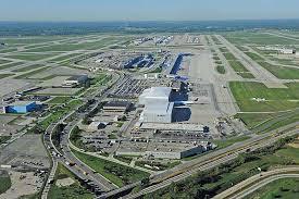 detroit metro airport map airport cities southeast michigan builds an aerotropolis site
