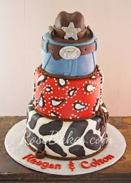 cowboy cake topper behance
