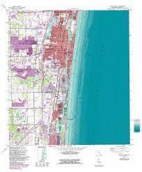 Map Of Delray Beach Delray Beach Topographic Map Fl Usgs Topo Quad 26080d1