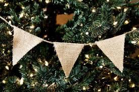 burlap christmas burlap garland 18 diy ideas guide patterns