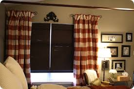 Side Curtain Rods Tricky Tricky Window Treatments From Thrifty Decor