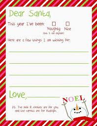 doc 8591100 christmas list to santa template u2013 free printable