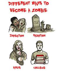 Funny Zombie Memes - farewell letter from humor walking dead and stuffing