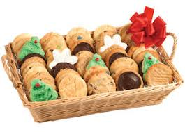 cookie basket affordable christmas gifts homebaked cookie baskets or tins
