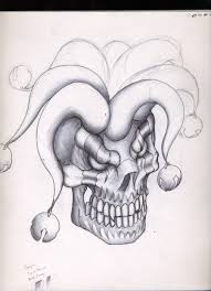 amazing jester tattoos design