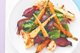 Spanish Root Vegetables - roasted root vegetable salad
