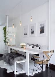 tavolo sala pranzo panche e sedie di design per tavolo da pranzo 30 idee di arredo