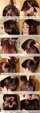 step by step easy updos for thin hair different updo hairstyles for long hair popular long hairstyle idea