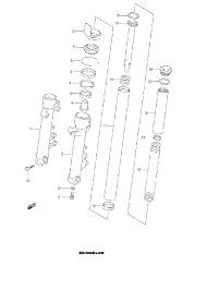 2001 suzuki bandit 600s gsf600s front fork damper parts best oem