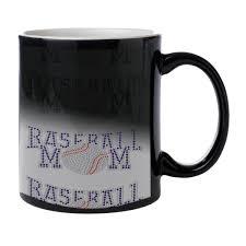 baseball mom heat morph coffee mug sunshine design online