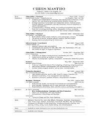 videographer resume videographer resume samples visualcv resume