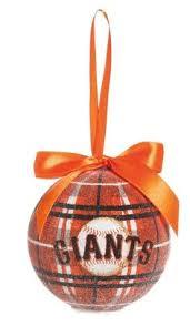 san francisco giants 3d logo ornament