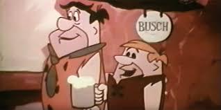 u0027s flintstones corporate cartoon busch beer