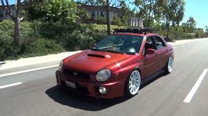 lowered subaru impreza wagon justin sloman u0027s 2002 subaru wrx youtube