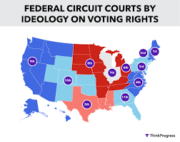 federal circuit court map elections is the state of things as they actually exist