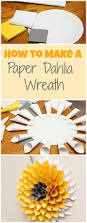 the 25 best paper wreaths ideas on pinterest flowers with paper