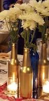 painted bottles u2013 centerpieces weddingbee