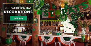 st patricks day party supplies st patricks day decorations