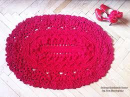 Area Rug For Baby Room Crochet Textured Rug Oval 3d Area Rug Baby Rug Floor Lace