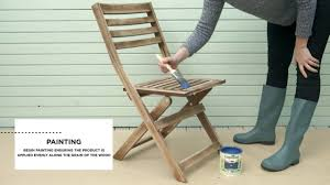 How To Repaint Furniture by How To Paint Garden Furniture Cuprinol Youtube